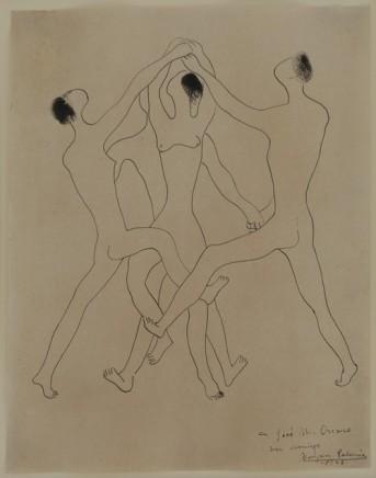 Benjamin Palencia, Tres Figuras, 1928