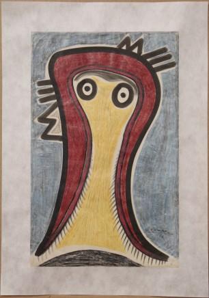Benjamin Palencia, Cebeza de Mujer (Head of Woman), 1930