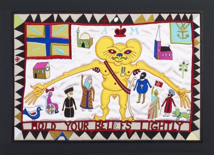 Grayson Perry, Hold Your Beliefs Lightly, 2011
