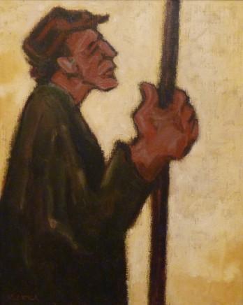 Mike Jones, Farmer with Stick