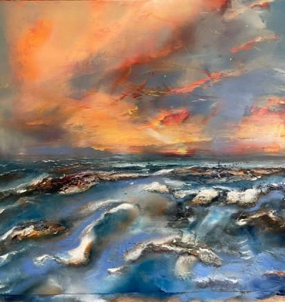 Iwan Gwyn Parry, Last Light towards Dublin Bay