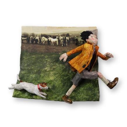 Luned Rhys Parri, Y Bachen a'r Ci, Sioe Stalwyni, Mynydd Epynt / The Boy and the Dog, Stallion Show, Epynt Mountain
