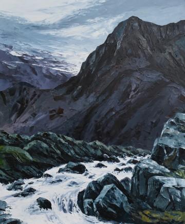 Gwyn Roberts, Cwm Idwal, Gaeaf / Cwm Idwal, Winter
