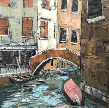 Martin Llewellyn, Side Canal, Venice