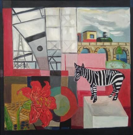 Emrys Williams, Zebra & Eiffel Tower