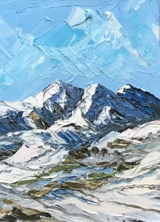 Martin Llewellyn, View from Pen y Gwryd