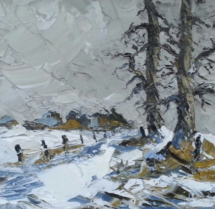 Martin Llewellyn, Snow covered Footpath