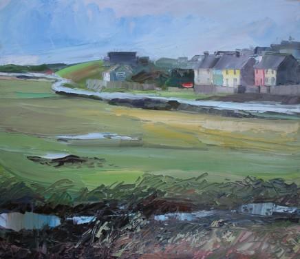 Sarah Carvell, Yr Afon yn Aberffraw / The River at Aberffraw