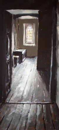 Matthew Wood, Gwydir Castle. Corridor from the Hall of Meredith