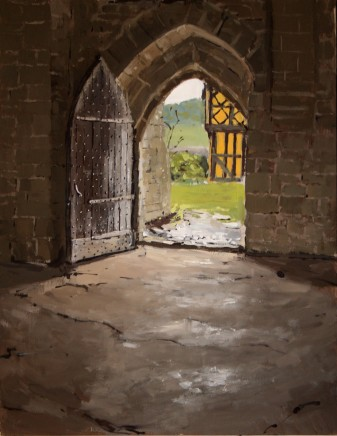 Matthew Wood, Stokesay Castle. View from the Hall