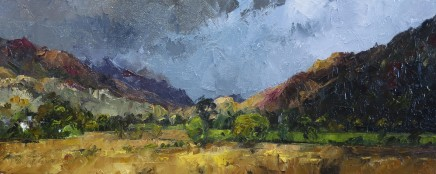 David Grosvenor, The Mountains from Beddgelert