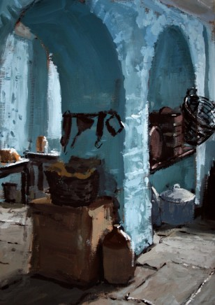 Matthew Wood, Pantry in Blue
