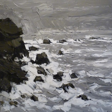 Kyffin Williams, Storm off Anglesey, c1990s