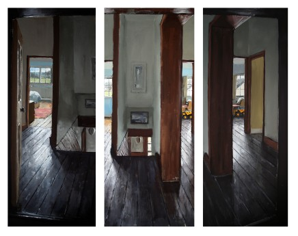 Matthew Wood, The Mill House Triptych I