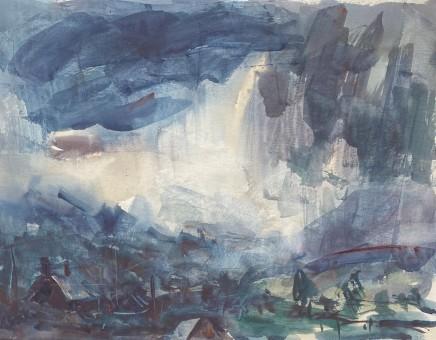 Gareth Parry, Glaw yn y Dyffryn, Gwynedd / Rain in the Valley, Gwynedd