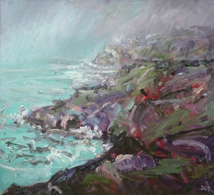 David Lloyd Griffith, Rain Moving in over the Great Orme, Llandudno
