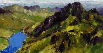 David Grosvenor, Llyn Ogwen from Y Garn, Snowdonia