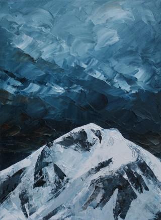 Gwyn Roberts, Y Garn, Eira / Y Garn, Snow