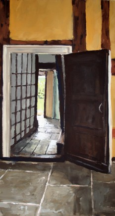 Matthew Wood, Cwmmau Farmhouse - Doorway from the Mid Kitchen