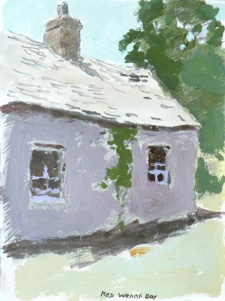 Donald McIntyre, Purple Cottage, Red Wharf Bay