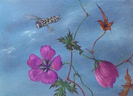Kim Dewsbury, Garden Life with Geraniums