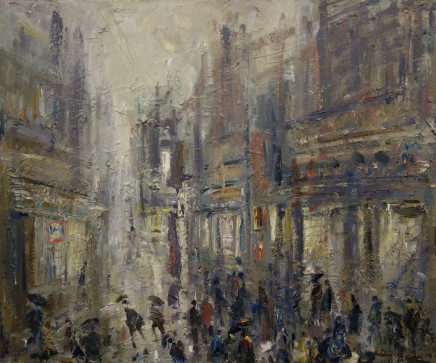 Gareth Parry, Shopping in the Rain