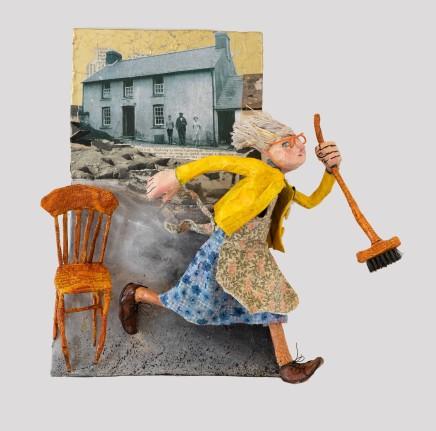 Luned Rhys Parri, Hen Gadair o Flaen Waun-Lwyd / Old Chair in front of Waun-Lwyd