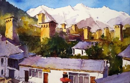 David Grosvenor, Mestia, Caucasus Mountains, Georgia
