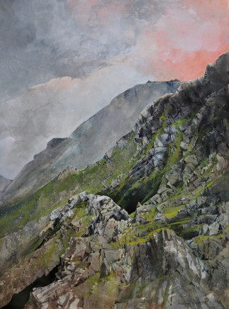 Malcolm Edwards, Towards Crib Goch