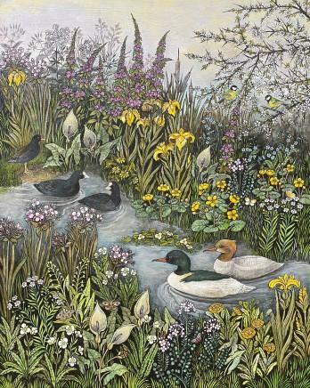 Barbara Winrow, Water Birds
