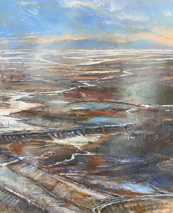 Iwan Gwyn Parry, Looking North from the Malahide Estuary, Early Morning Light