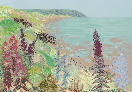 Katie Allen, Oxwich towards Crawly Woods