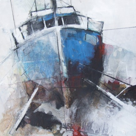 Pete Monaghan, Three Boats Blue II