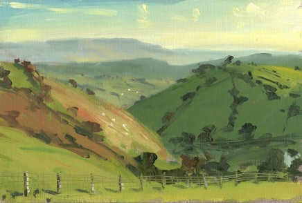 Matthew Wood, Llandinam Hill from the North