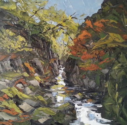 Martin Llewellyn, Autumn, Fairy Glen