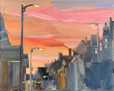 Sarah Carvell, Pink Lighting Up Time, Vale Street