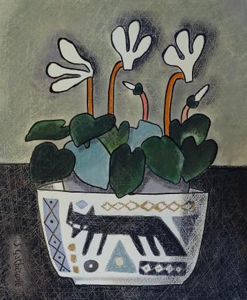 Susan Gathercole, Cyclamen & Svaale Dish II