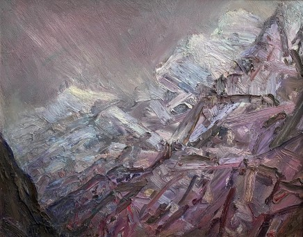 David Lloyd Griffith, Mountain Weather - Nant Peris