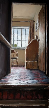 Matthew Wood, The Mill House. View from the Stairs II