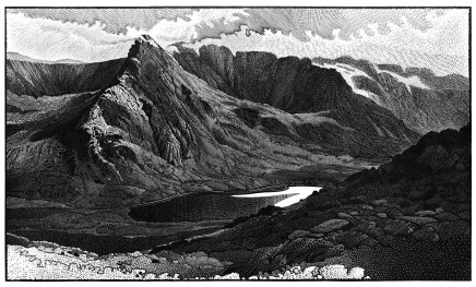 Colin See-Paynton, Tryfan and the Ogwen Valley £675