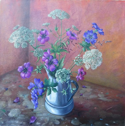 Kim Dewsbury, Summer in an Enamel Jug
