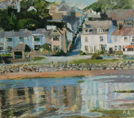 Anne Aspinall, Borth y Gest, High Tide