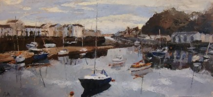 Anne Aspinall, Harbour Entrance, Porthmadog