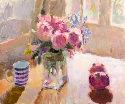 Lynne Cartlidge, Roses in the Dining Room