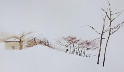Dewi Tudur, Villa Poggio yn yr Eira / Villa Poggio in the Snow
