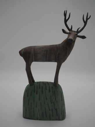 Anna Noel, Stag on a Hill II
