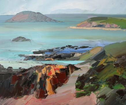 Sarah Carvell, Llwybr yn Arwain i Porth Oer / Path to Whistling Sands