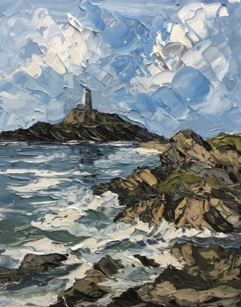 Martin Llewellyn, Lighthouse, Anglesey