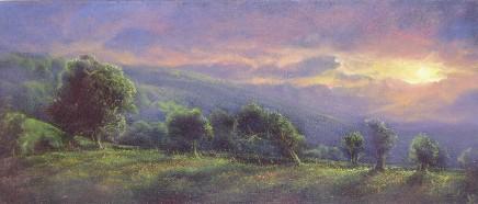 Gerald Dewsbury, Last Sun near Kinnerton Green