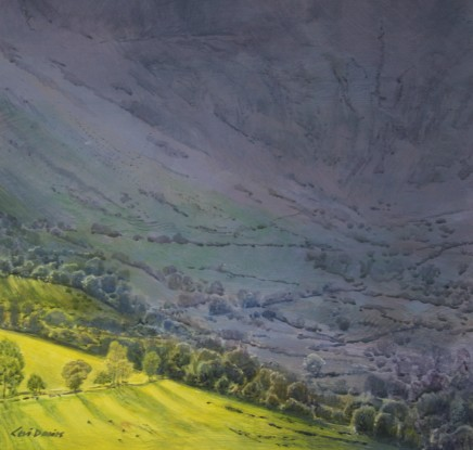 Ceri Auckland Davies, End of Day (Cwm Cywarch)